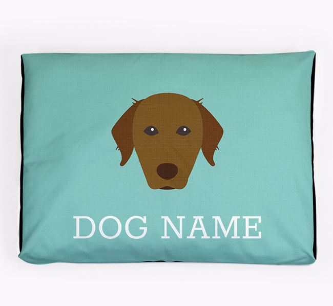 Personalised Icon Dog Bed for your Chesapeake Bay Retriever