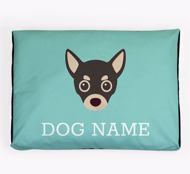 Personalised Icon Dog Bed for your Chihuahua