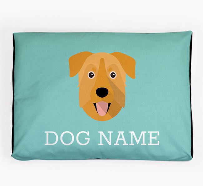 Personalised Icon Dog Bed for your Chinook