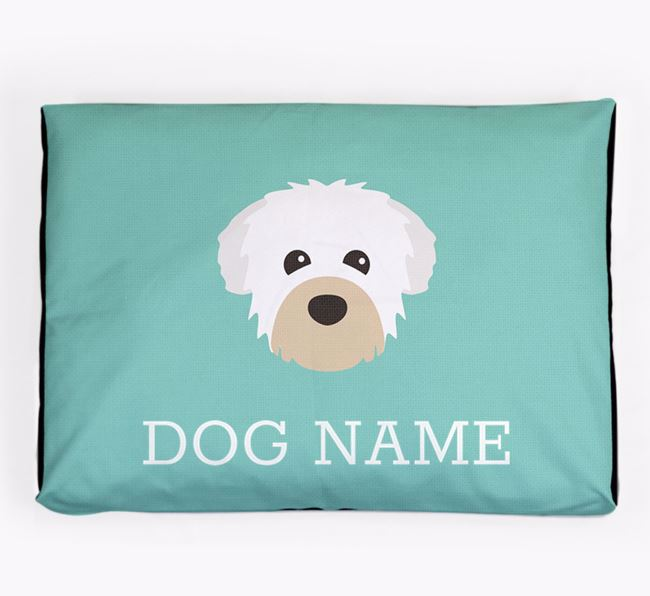 Personalised Icon Dog Bed for your Chipoo