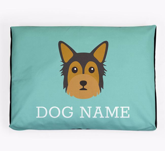 Personalised Icon Dog Bed for your Chorkie