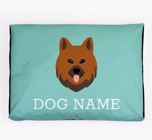 Personalised Icon Dog Bed for your Chow Shepherd
