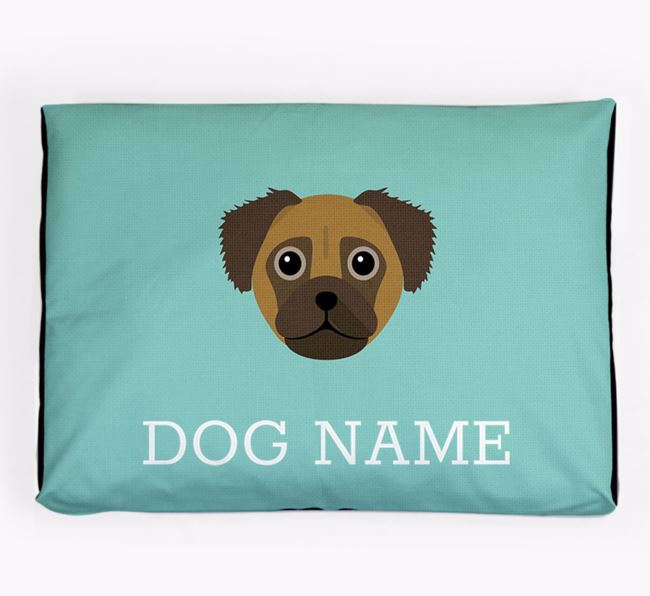 Personalised Icon Dog Bed for your Chug