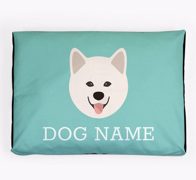 Personalised Icon Dog Bed for your Chusky