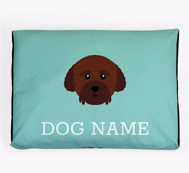 Personalised Icon Dog Bed for your Cockachon