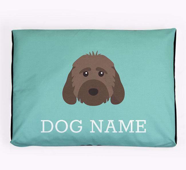 Personalised Icon Dog Bed for your Cockapoo
