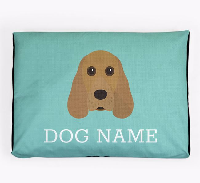 Personalised Icon Dog Bed for your Cocker Spaniel