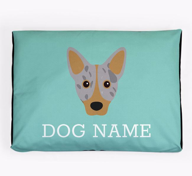 Personalised Icon Dog Bed for your Cojack