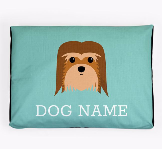 Personalised Icon Dog Bed for your Coton De Tulear
