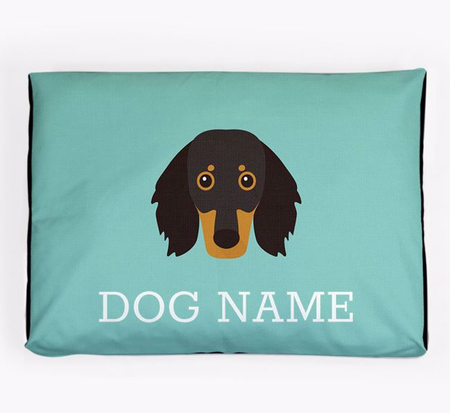 Personalised Icon Dog Bed for your Dachshund