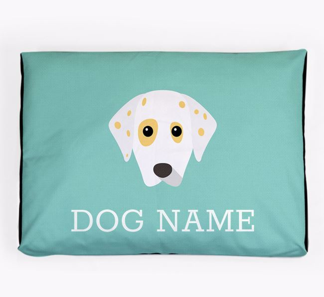 Personalised Icon Dog Bed for your Dalmatian