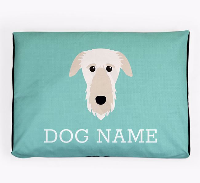 Personalised Icon Dog Bed for your Deerhound