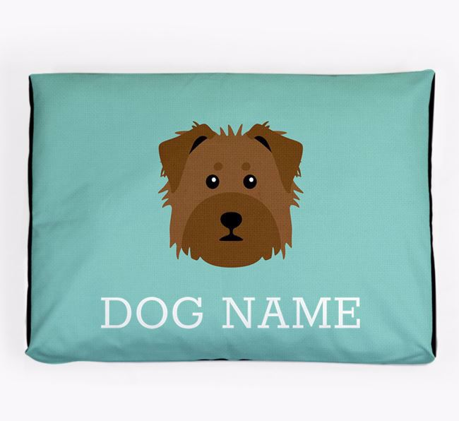 Personalised Icon Dog Bed for your Dorkie