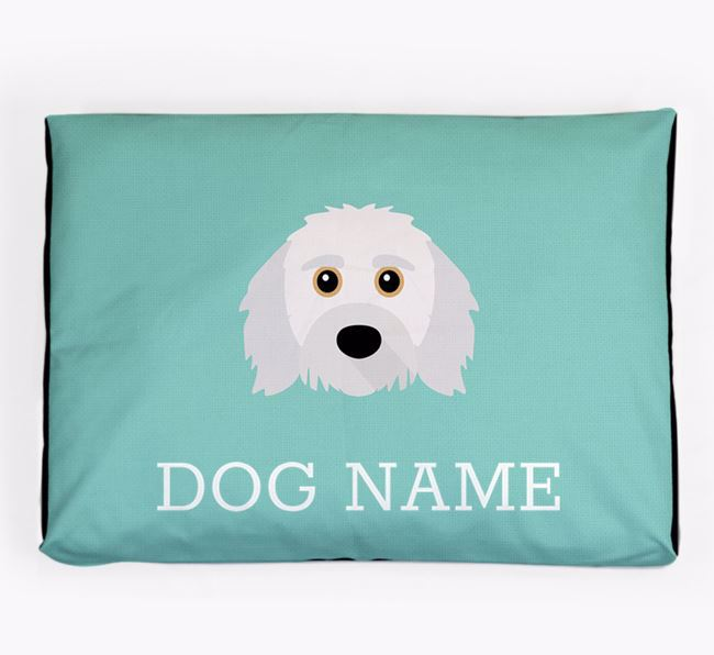 Personalised Icon Dog Bed for your Doxiepoo