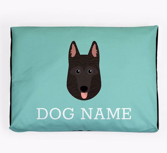 Personalised Icon Dog Bed for your Dutch Shepherd
