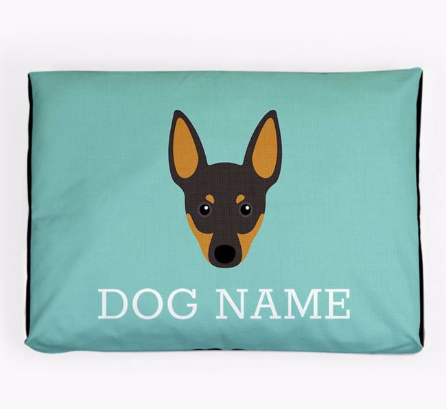 Personalised Icon Dog Bed for your English Toy Terrier