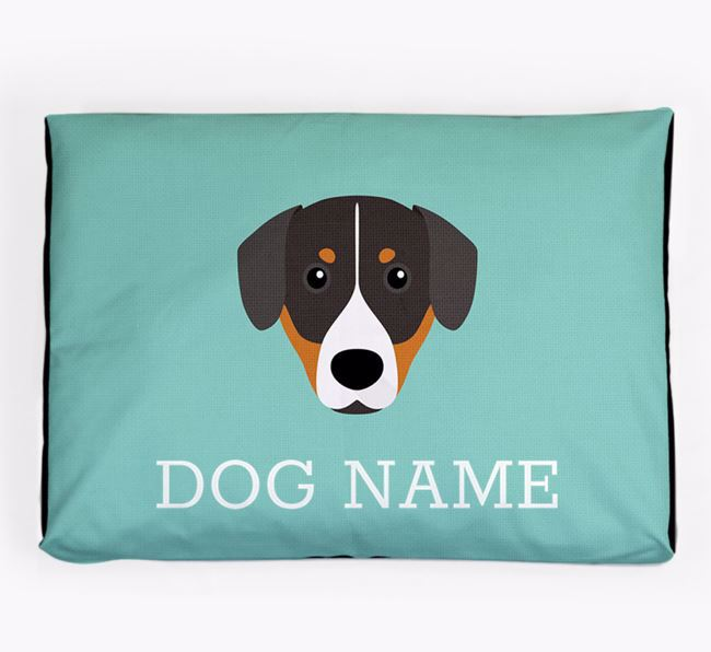 Personalised Icon Dog Bed for your Entlebucher Mountain Dog