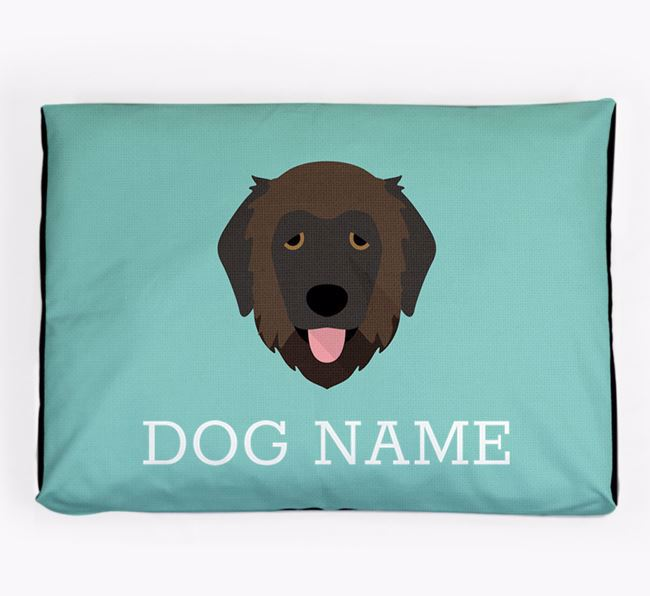 Personalised Icon Dog Bed for your Estrela Mountain Dog
