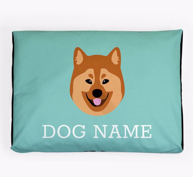 Personalised Icon Dog Bed for your Eurasier