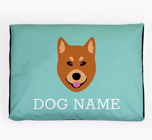 Personalised Icon Dog Bed for your Finnish Spitz