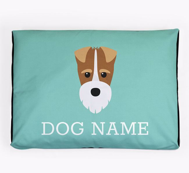 Personalised Icon Dog Bed for your Fox Terrier
