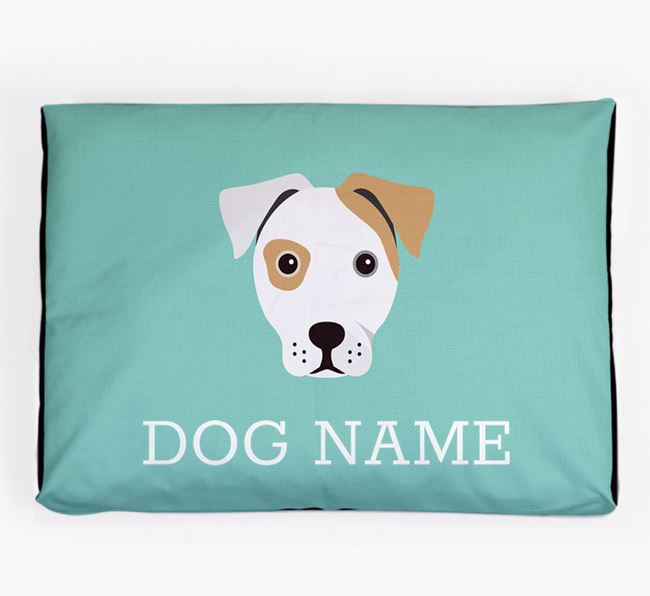 Personalised Icon Dog Bed for your French Bull Jack