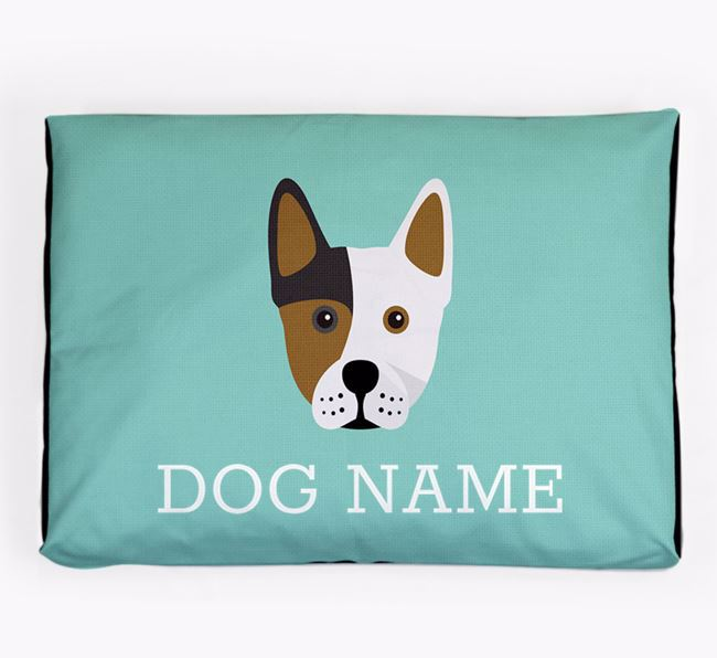 Personalised Icon Dog Bed for your Frenchie Staff