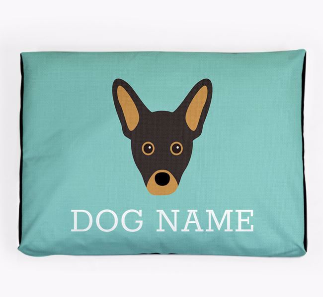 Personalised Icon Dog Bed for your French Pin