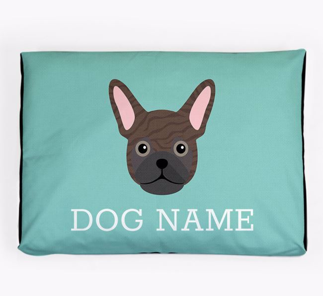 Personalised Icon Dog Bed for your Frug