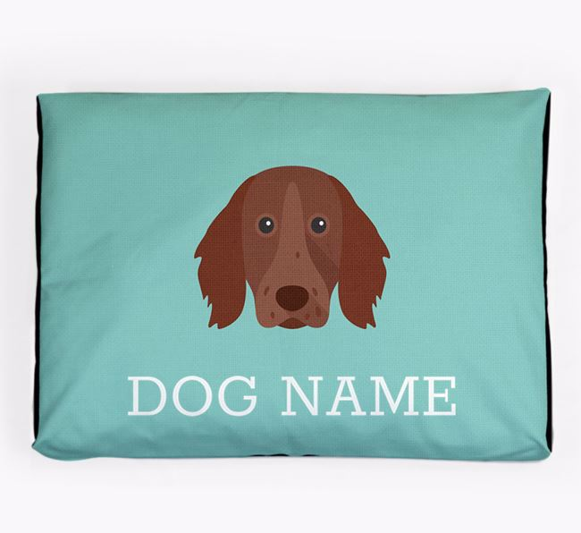 Personalised Icon Dog Bed for your German Longhaired Pointer