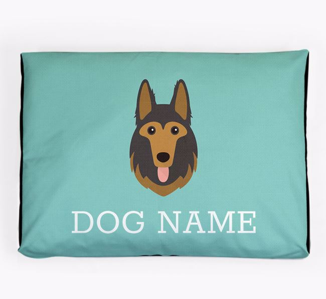 Personalised Icon Dog Bed for your German Shepherd