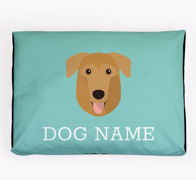 Personalised Icon Dog Bed for your German Sheprador