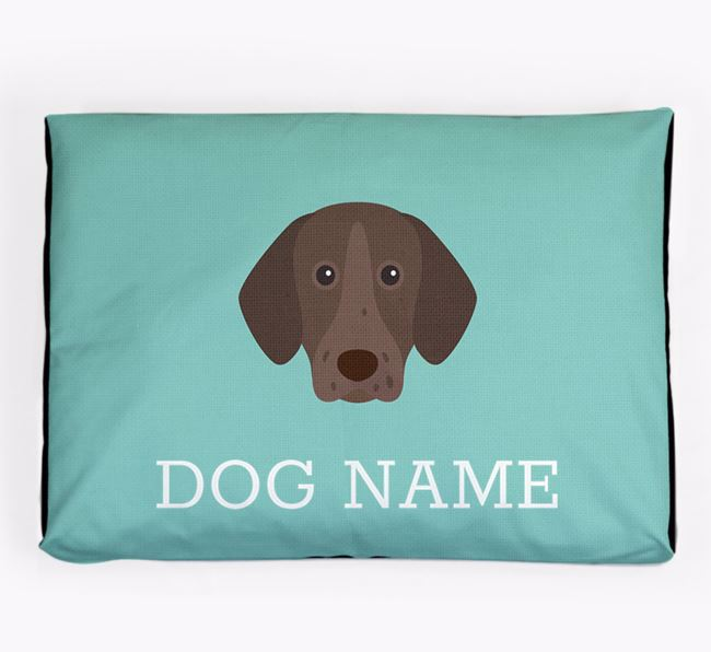 Personalised Icon Dog Bed for your German Shorthaired Pointer