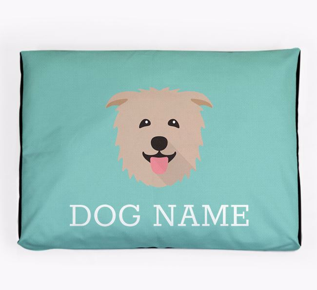 Personalised Icon Dog Bed for your Glen Of Imaal Terrier