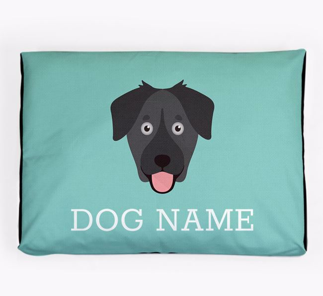 Personalised Icon Dog Bed for your Goberian