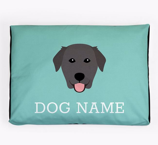 Personalised Icon Dog Bed for your Golden Labrador
