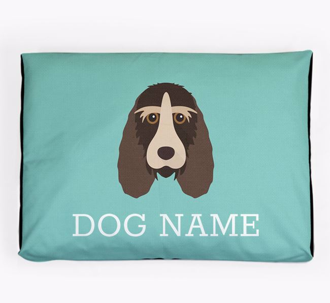 Personalised Icon Dog Bed for your Grand Basset Griffon Vendeen
