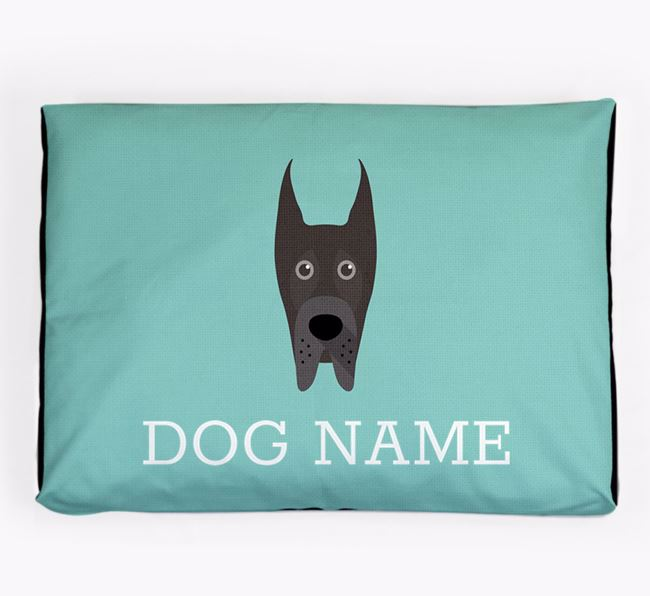 Personalised Icon Dog Bed for your Great Dane