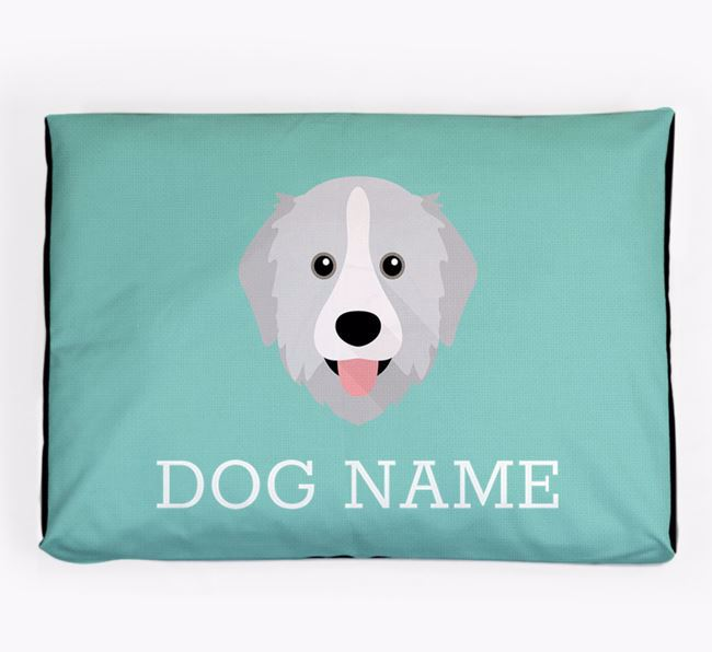 Personalised Icon Dog Bed for your Great Pyrenees
