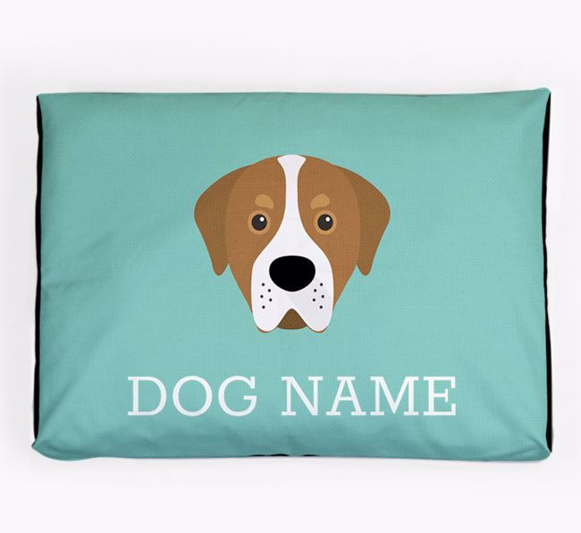 Personalised Icon Dog Bed for your Greater Swiss Mountain Dog