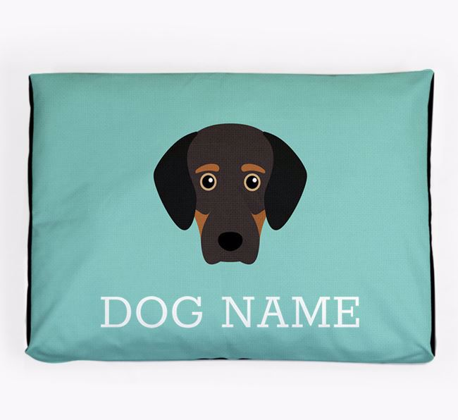 Personalised Icon Dog Bed for your Greek Harehound