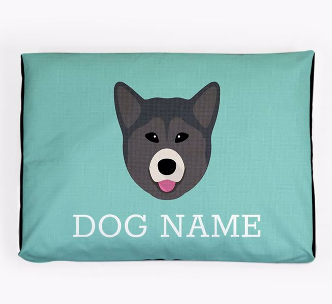 Personalised Icon Dog Bed for your Greenland Dog