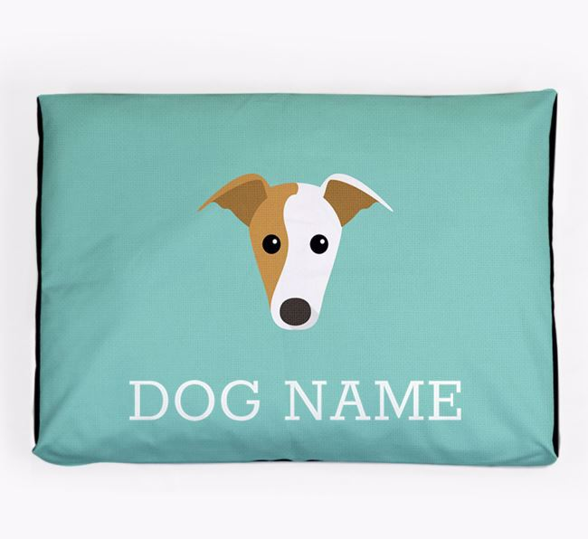 Personalised Icon Dog Bed for your Greyhound