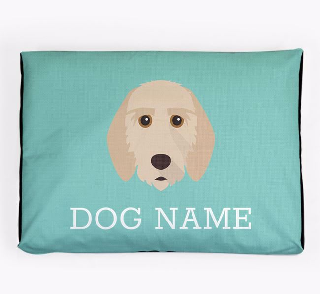 Personalised Icon Dog Bed for your Griffon Fauve De Bretagne