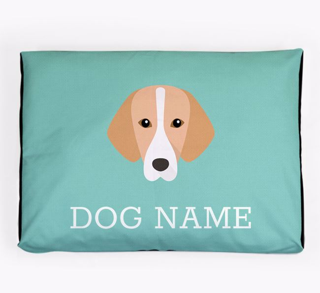 Personalised Icon Dog Bed for your Hamiltonstovare