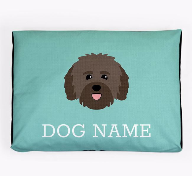 Personalised Icon Dog Bed for your Havanese