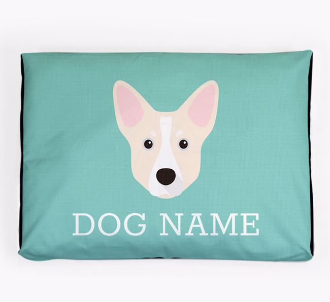 Personalised Icon Dog Bed for your Horgi