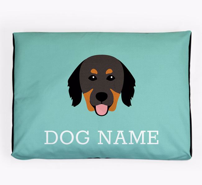 Personalised Icon Dog Bed for your Hovawart