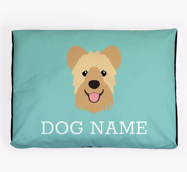 Personalised Icon Dog Bed for your Hungarian Pumi