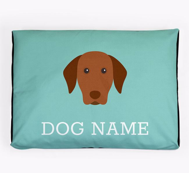 Personalised Icon Dog Bed for your Hungarian Vizsla